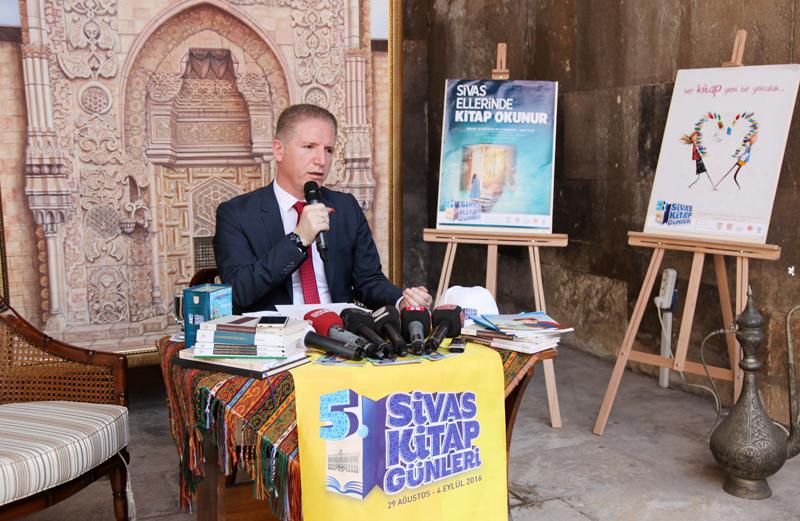5. Sivas Kitap Günleri Basın Bilgilendirme Toplantısı Düzenlendi