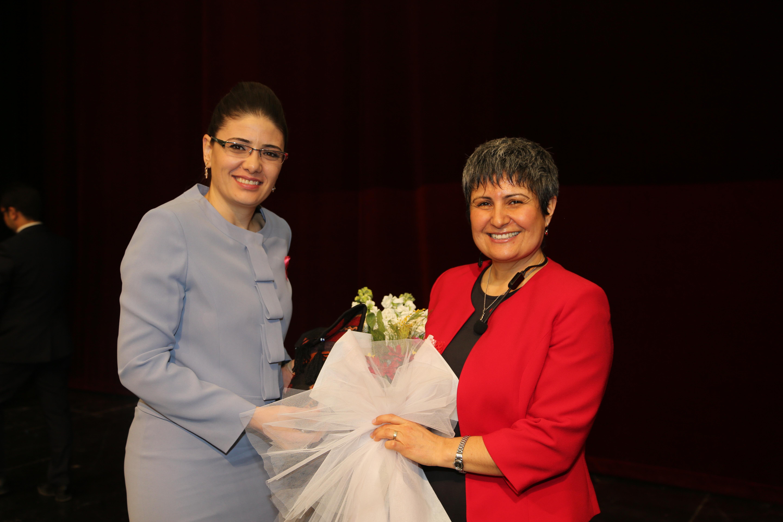 Aile ve Sosyal Politikalar İl Müdürlüğü tarafından 8 Mart Dünya Kadınlar Günü münasebetiyle program düzenlendi.